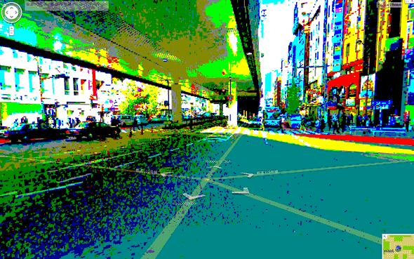 Google Maps 8-bit Street View