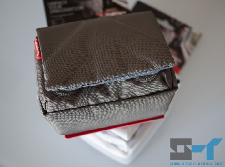 Manfrotto Nano VI and VII camera pouch one on top of each other