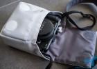 Manfrotto Nano VII camera case with Panasonic GF1 inside