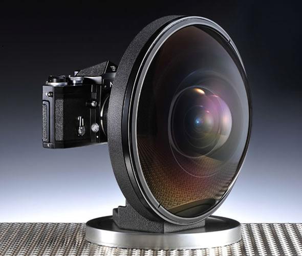 Nikkor fisheye 6mm f/2.8 vintage lens