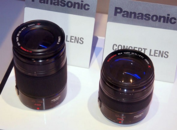Panasonic 12-35mm f/2.8mm and 35-100mm f/2.8 X-series Micro Four Thirds lenses