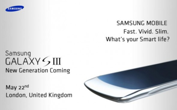 Samsung Galaxy S III supposed leaked shot