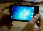 Samsung Galaxy S III (dummy casing) leak - landscape home screen