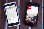 Flipboard for Android running on an HTC One X and the Galaxy Nexus