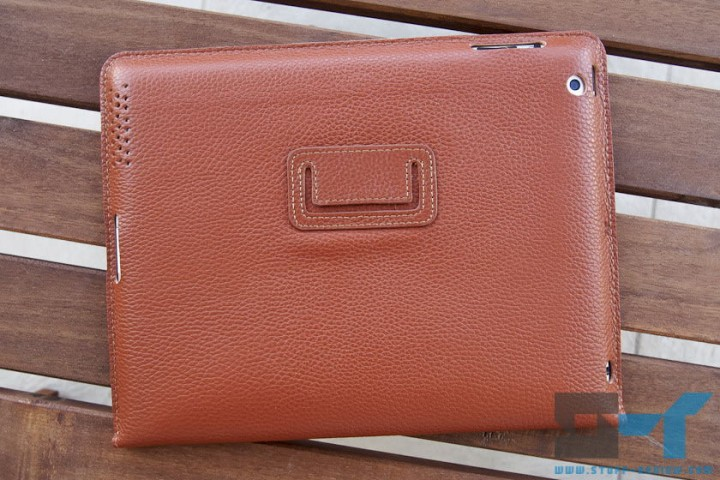 Yoobao leather case for the new iPad (2012) back