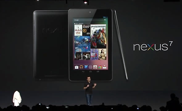Google Nexus 7 tablet announced