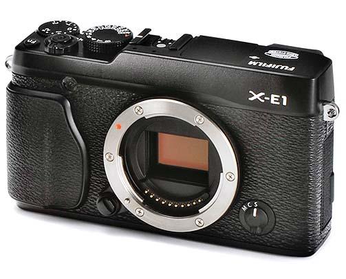 Fujifilm X-E1 black