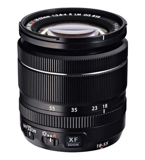Fujiflm XF18-55mm f/2.8-4 R OIS zoom lens