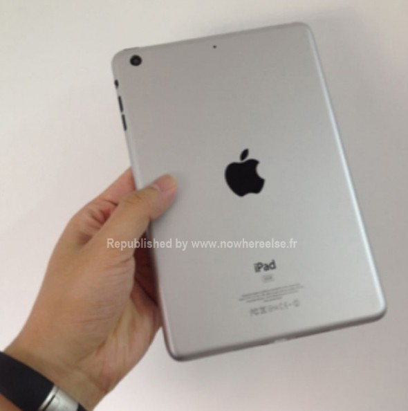 iPad mini leak back