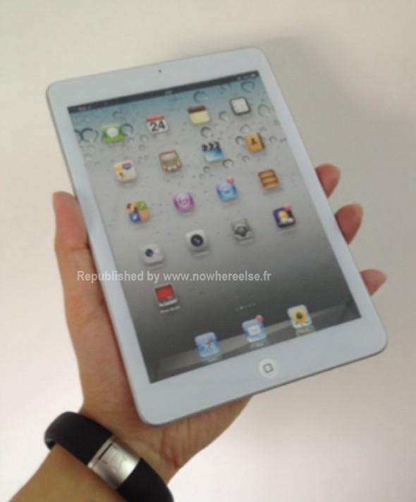 iPad mini leak front