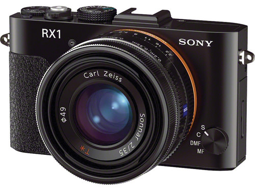 Sony RX1 full-frame mirrorless camera front