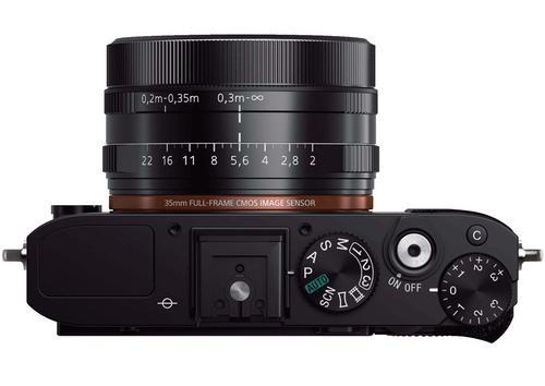 Sony RX1 full-frame mirrorless camera top