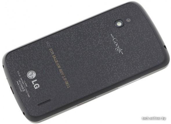 LG Google Nexus back