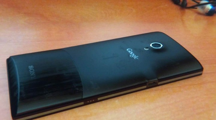Sony Nexus X back leak