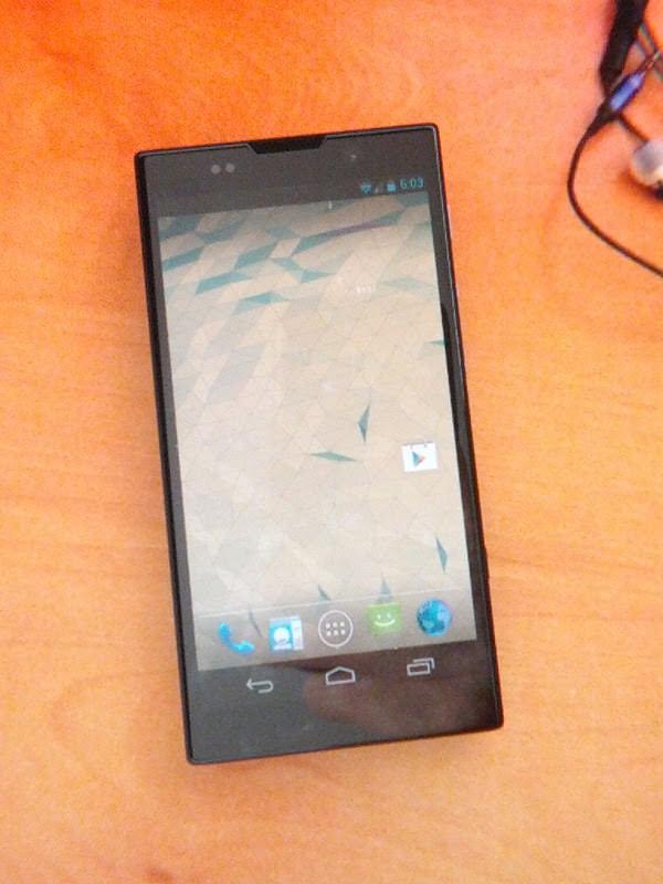 Sony Nexus X front leak