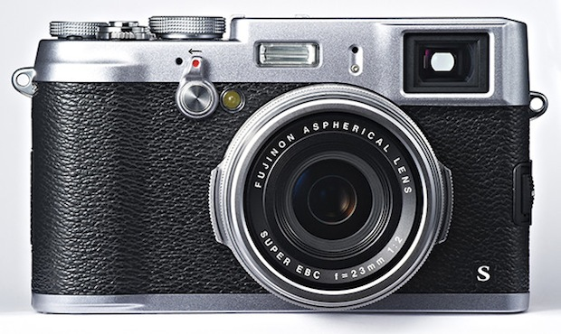 Fujifilm X100S digital camera - front